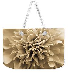 Skunk Flower Orange Weekender Tote Bag