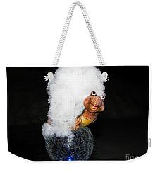 Smile Weekender Tote Bag by Leone Lund