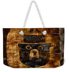 Smokey The Bear Only You Can Prevent Wild Fires Weekender Tote Bag