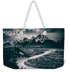 Snake River In The Tetons - 1930s Weekender Tote Bag