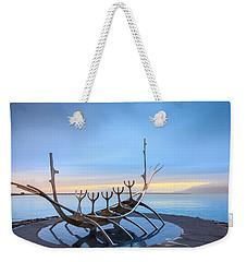 Solfar Sun Voyager Weekender Tote Bag by Alexey Stiop
