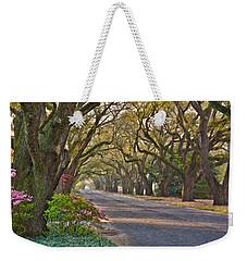 South Boundary In Spring Weekender Tote Bag