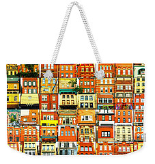Southside Pittsburgh Weekender Tote Bag by Joe Jake Pratt