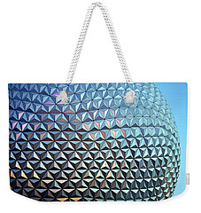 Weekender Tote Bag featuring the photograph Spaceship Earth by Cora Wandel