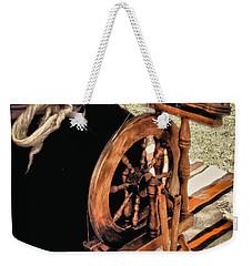 Spinning Wool Weekender Tote Bag