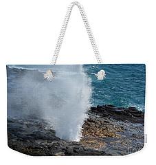 Spouting Horn Weekender Tote Bag