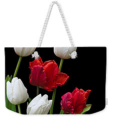 Spring Tulips Weekender Tote Bag by Jane McIlroy