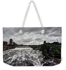 St Anthony Falls Weekender Tote Bag