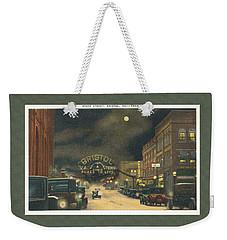 State Street Bristol Va Tn 1920's - 30's Weekender Tote Bag