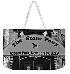 Stone Pony Weekender Tote Bag by Paul Ward