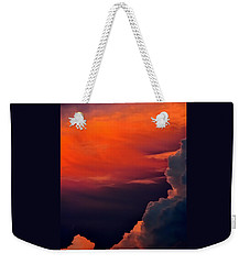 Storm Moving In 16101 Weekender Tote Bag by Jerry Sodorff