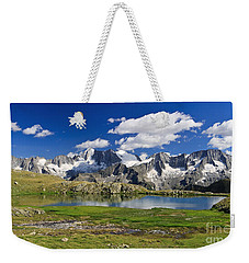 Weekender Tote Bag featuring the photograph Strino Lake - Italy by Antonio Scarpi