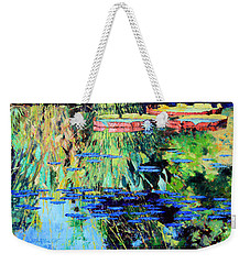 Summer Colors On The Pond Weekender Tote Bag