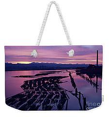 Sunrise Lumber Mill Weekender Tote Bag