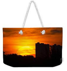 Sunrise  Weekender Tote Bag by Meg Rousher