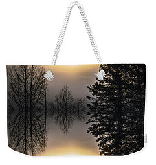 Sunrise-sundown Weekender Tote Bag