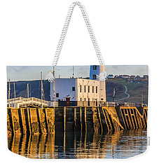 Sunset Over Scarborough Lighthouse Weekender Tote Bag