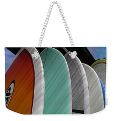 Surf Break Weekender Tote Bag