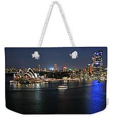 Sydney Harbor At Circular Quay Weekender Tote Bag by Ellen Henneke