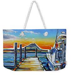 Tauranga Marina 180412 Weekender Tote Bag by Selena Boron
