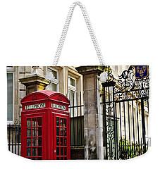 Telephone Box In London Weekender Tote Bag