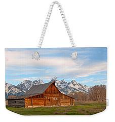 Teton Barn Weekender Tote Bag by Steve Stuller