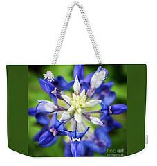 Texas Bluebonnet Weekender Tote Bag
