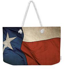 Rustic Texas Flag  Weekender Tote Bag