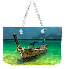 Thai Longboat Weekender Tote Bag