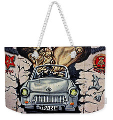 The Famous Kiss Weekender Tote Bag