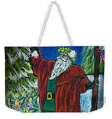 The Holly King Weekender Tote Bag