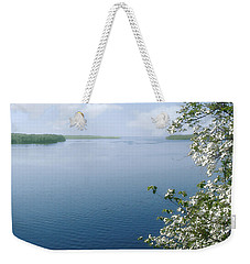 The Lake Weekender Tote Bag