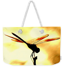 The Light Of Flight Upon The Mosquito Hawk At The Mississippi River In New Orleans Louisiana Weekender Tote Bag