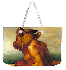 The Minotaur Weekender Tote Bag by George Frederic Watts