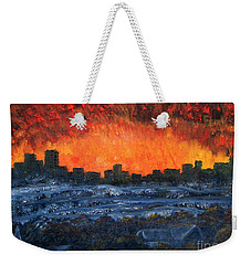 The Night The Lights Went Out Weekender Tote Bag