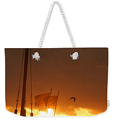 The Nina  Weekender Tote Bag by Leticia Latocki