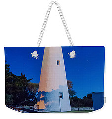 The Ocracoke Lighthouse On Ocracoke Island On The North Carolina Weekender Tote Bag by Alex Grichenko