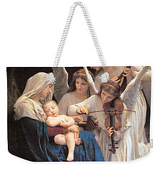 The Virgin With Angels Weekender Tote Bag