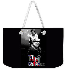 The Who Weekender Tote Bag by Doc Braham