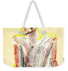 Thinking Back Weekender Tote Bag