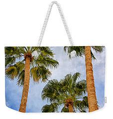 Three Palms Palm Springs Weekender Tote Bag by William Dey
