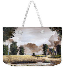 Through The Cornfield Weekender Tote Bag