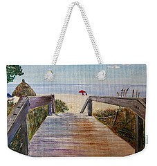 To The Beach Weekender Tote Bag by Marilyn  McNish