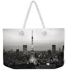 Tokyo Tower At Night Weekender Tote Bag
