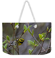 Townsends Warbler Weekender Tote Bag