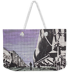 Train Graffiti  Weekender Tote Bag