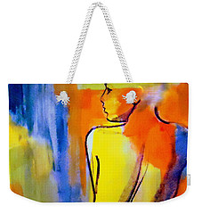 Weekender Tote Bag featuring the painting Tranquility by Helena Wierzbicki
