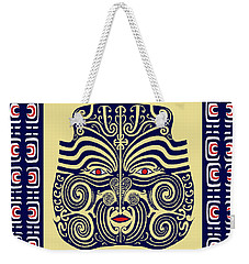 Marquesas Tribal Spirits Weekender Tote Bag