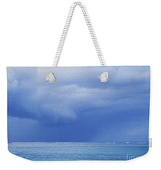 Tropical Storm Weekender Tote Bag by Roselynne Broussard