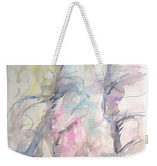 Two Trees In The Wind Weekender Tote Bag